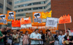 FC Members of People's Firewall, Occupy FCC speak at Net Neutrality rall 5-15-14