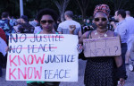 Know Justice Know Peace Black Lives Matter DC 7-8-2016