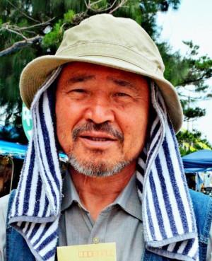 Okinawa peacemaker leader Yamashiro Hiroji