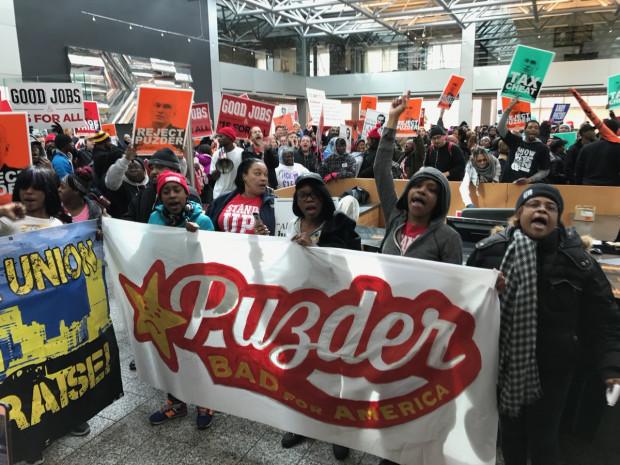 Pudzer protest