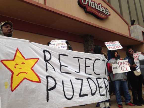 Reject Puzder from Fight for $15 February 12, 2017
