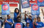 Postal workers halted a creeping privatization scheme with a three-year boycott. Photo: APWU