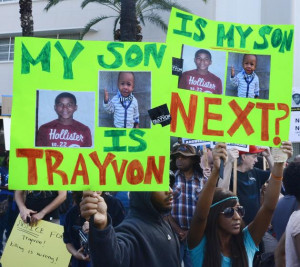 Trayvon LA My son next