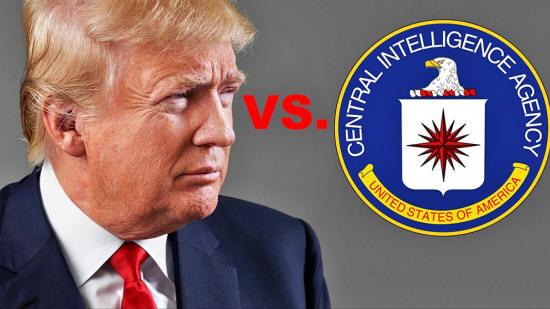 Trump vs the CIA