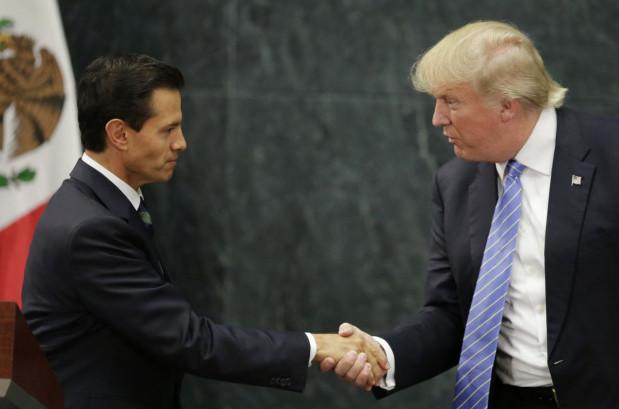 Border frenemies.(Reuters/Henry Romero)