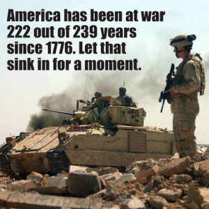 America is always at war