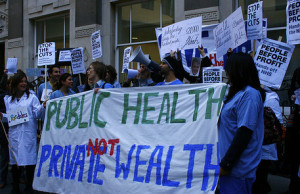 Health care public health not private wealth