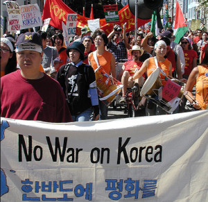 No War on Korea