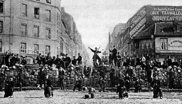 Worker's Barricade, the Paris Commune 1871