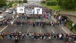 Resumen Latinoamericano, FM Riachuel, Revista Venceremos / The Dawn News / March 15, 2017. Photos: Agencia Resistir y Luchar and FPDS