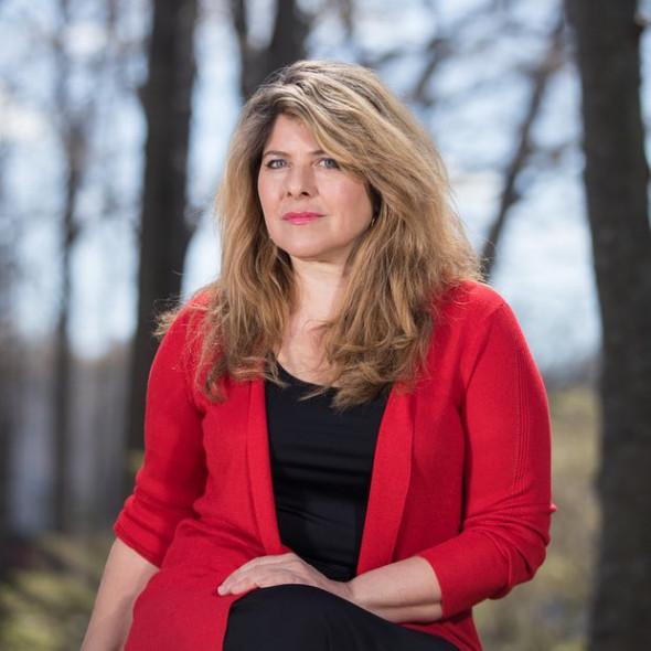 Naomi Wolf, photographed last week at Stony Brook University, NY: 'I was mad at my own leftwing tribe.' Photograph: Christopher Lane for the Observer