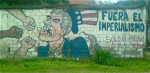 Anti-imperialism grafitti in Latin America