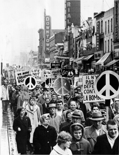 Anti-nuclear weapons protest