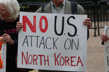 No Attack on Korea, White House April 26, 2017. By Chris Owens.