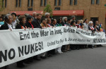 Anti-War/Anti-Nuclear War Protest, May 1, 2005, New York City