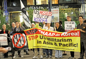 No THAAD, no war games, no US missiles