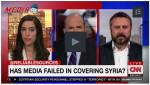 Scahill criticizing Syria media coverage