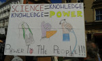 Science is power to the people from Twitter @350