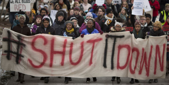 Shut It Down protest