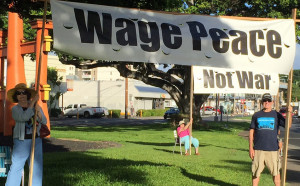 Wage Peace from Pace e Benne Flickr