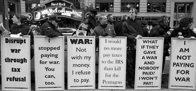 War tax resistance