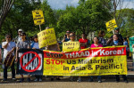 Delegation to stop THAAD missile deployment in South Korea. Photo: Anne Meador