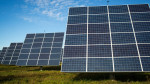Solar tracking devices in South Burlington, Vermont. IMAGE: ROBERT NICKELSBERG/GETTY IMAGES