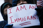 """""""Once again, the courts have spoken to defend tolerance, diversity and inclusion form the illegal threats of the Trump administration,"""" said Faiz Shakir, national political director for the  ACLU, in a statement. """"Once again, Trump has overreached and lost.""""  (Photo: Claritza Jimenez/The Washington Post)"""