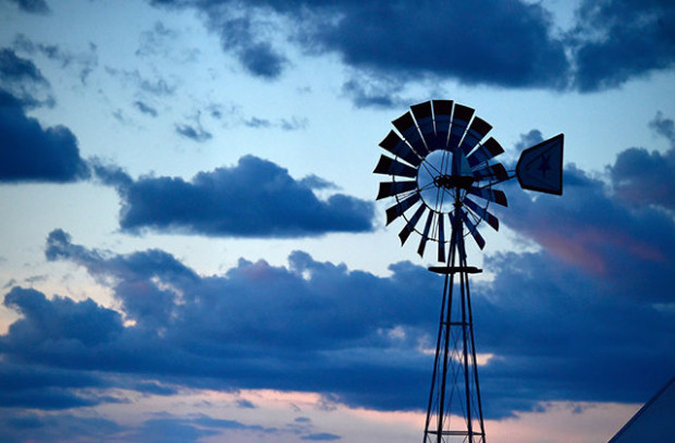 A windmill is seen during 2016 Stagecoach California's Country Music Festival at Empire Polo Club on April 30, 2016 in Indio, California.  Photo: Frazer Harrison/Getty Images for Stagecoach
