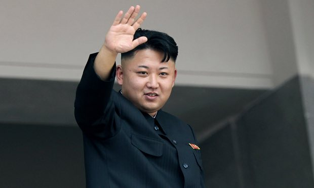 North Korea's ministry of state security accused the CIA of an alleged recent assassination attempt on Kim Jong-un. Photograph: Wong Maye-E/AP