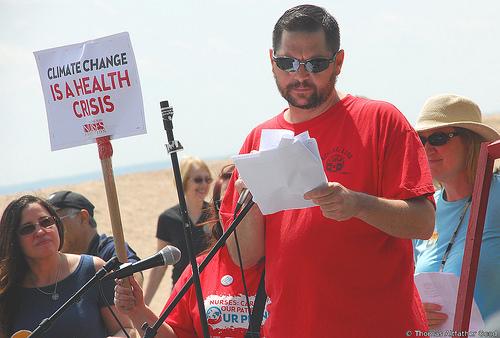 Steve Lawton, President CWA Local 1102 (Photo: Thomas Altfather Good / Union Writer)