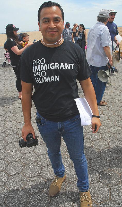 Caesar Vargas, Dream Action Coalition (Photo: Thomas Altfather Good / Union Writer)