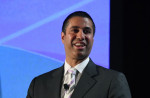 Ethan Miller/Getty Images Federal Communications Commission Chairman Ajit Pai speaks during the 2017 NAB Show at the Las Vegas Convention Center on April 25, 2017 in Las Vegas, Nevada. (Photo by Ethan Miller/Getty Images)