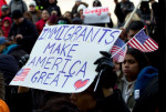 Immigrants Make America Great  DC May Day protest 2017