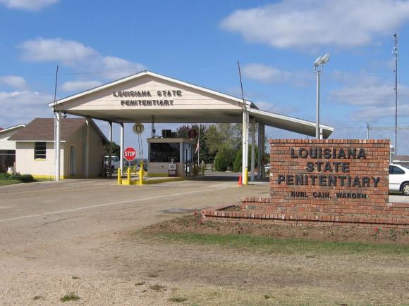Louisiana prison entrance