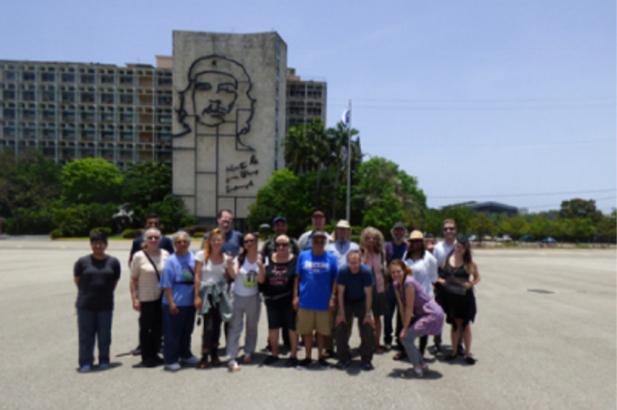 Американский просветительский туризм на Кубе.