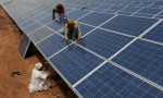India's renewable energy burst has put it eight years ahead of its 2030 goal, and China's emissions from energy use appear to have peaked more than a decade early, a new report says. Credit: San Panthaky/AFP/Getty Images