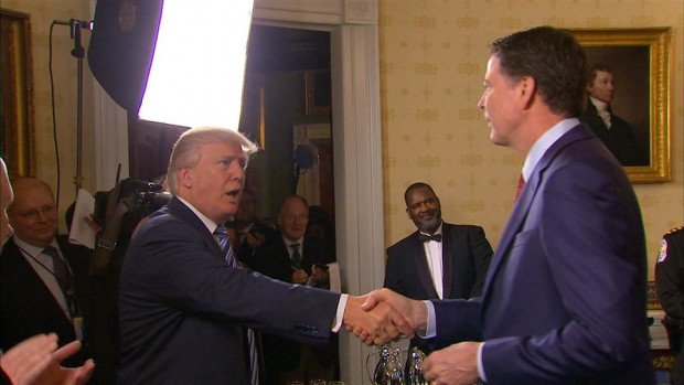 Trump and Comey NBC News