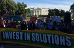 Climate Protest Invest in Solutions June 1, 2017 by John Zangas