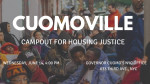 Cuomoville camp out for housing justice