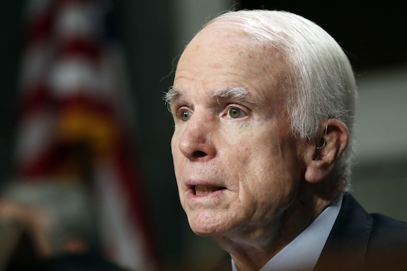 John McCain, chairman of the Senate Armed Services Committee, is among senators calling for investigations into the reports. (Jacquelyn Martin / AP)