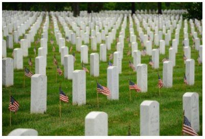Miliitary graveyard