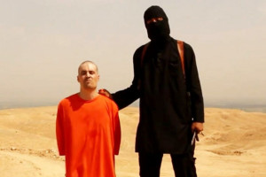 Journalist James Foley shortly before he was executed by an Islamic State operative in August 2014.