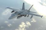 A U.S. F-18 Super Hornet. (U.S. Air Force)