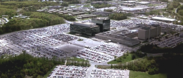 NSA headquarters at Fort Meade — Enemy of the State