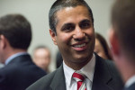 """FCC Chairman Ajit Pai, during the Inaugural Agriculture and Rural Prosperity Task Force Meeting in Washington, DC, on June 15, 2017. An influential paper cited by Pai in his campaign against net neutrality has been found to be """"riddled with factual errors."""" (Photo: Lance Cheung / USDA)"""