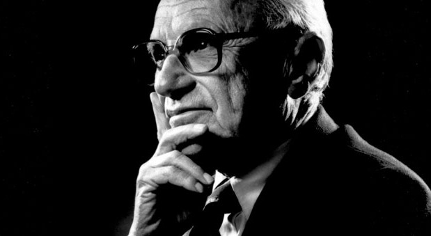 Milton Friedman was a kindred spirit to James McGill Buchanan in terms of a philosophy of deconstruction of the government. (Photo: Wikipedia)