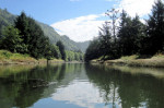 The Siletz River in Lincoln, Oregon. (Photo: USFWS - Pacific Region)