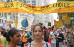 New York, September 2014: Young people protest against climate change. Image: By Thomas Good via Wikimedia Commons