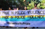 """""""No Justice No Pride"""" is only the latest group to raise concerns with Capital Pride.  Kevin Banatte"""